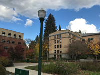 オレゴン大学構内