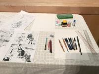 絵を描く道具